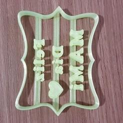 16012440909676271571161231679417.jpg Download STL file Short mother's day happy day • 3D printing design, DIMP