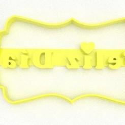 8.jpg Download STL file Short mother's day happy day • 3D printing design, DIMP