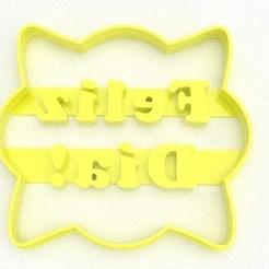 1.jpg Download STL file Short mother's day happy day • 3D printing design, DIMP