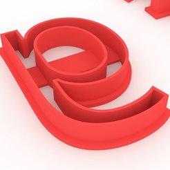 3.jpg Download STL file Letters Cutting Cutting • 3D printer template, DIMP