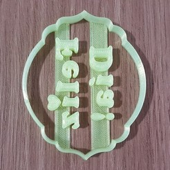 16012442948744702385102981066861.jpg Download STL file Short mother's day happy day • 3D printing design, DIMP