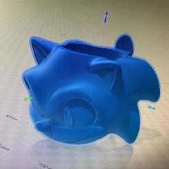 Impresiones 3D MATE SONIC SEGA, IMPRESION3DCORDOBAA