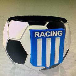 mate racing.jpg Download free STL file mate racing de avellaneda futbol • Design to 3D print, IMPRESION3DCORDOBAA