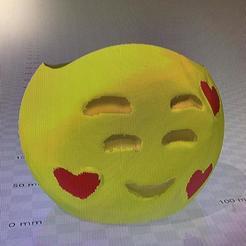 maceta emoji semienamorado.jpg Télécharger fichier STL gratuit MACETA EMOJI ENAMORADO • Design pour imprimante 3D, IMPRESION3DCORDOBAA