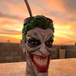 Download 3D printing designs mate joker guason, IMPRESION3DCORDOBAA
