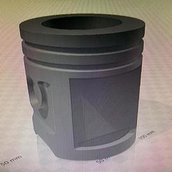 MATE PISTON.jpg Télécharger fichier STL MATE PISTON PARA COLOCAR LOGO A ELECCION ( CHEVROLET - FORD - AUDI - BMW - MERCEDEZ BENZ - KTM - DUCATI - YAMAHA - HONDA - SUZUKI ) • Objet à imprimer en 3D, IMPRESION3DCORDOBAA