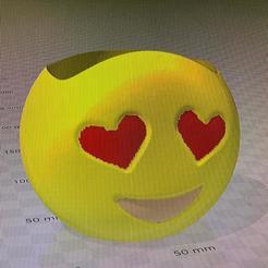 MACETA EMOJI ENAMORADO 1.jpg Télécharger fichier STL gratuit MACETA EMOJI ENAMORADO • Design pour imprimante 3D, IMPRESION3DCORDOBAA
