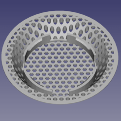 Screen Shot 2020-10-25 at 6.30.08 PM.png Download free STL file BATHROOM SINK STRAINER HAIR CATCHER DRAIN PROTECTOR V2 • Object to 3D print, Simply_Useful_3D