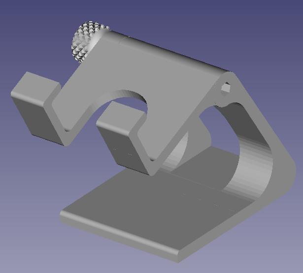PHOTO 4.png Download STL file Adjustable phone holder • 3D printable model, mathildeccfo