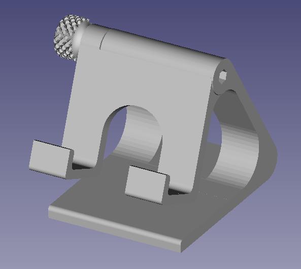 PHOTO.png Download STL file Adjustable phone holder • 3D printable model, mathildeccfo