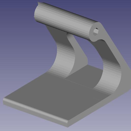 PHOTO 2.png Download STL file Adjustable phone holder • 3D printable model, mathildeccfo