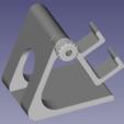 PHOTO 3.png Download STL file Adjustable phone holder • 3D printable model, mathildeccfo