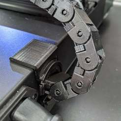 IMG_20200905_181935.jpg Download free STL file Rotating connector - body to cable chain for Artillery Genius • 3D printing object, gqx