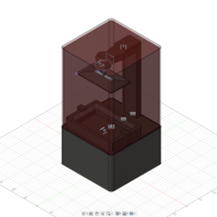 Download free 3D printer templates Elegoo(se) Mars Fusion 360 model, you_silly_goose