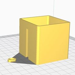 planter.JPG Download free STL file Wallmounted Cubeplanter • 3D printing object, lilBtired