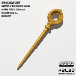 rbl3d_orko_new_staff.jpg Download free OBJ file Origins Orko New Staff • 3D printer object, RBL3D