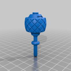 RBL3D_Ramman_grenade_mace_O.png Télécharger fichier OBJ gratuit Ramman/Jumping Jack Flash Grenade Mace • Plan pour impression 3D, RBL3D