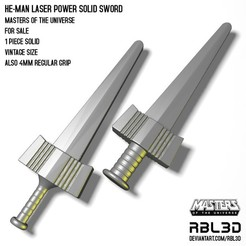 RBL3d_he-man_laser_Power_solid_sword.jpg Télécharger fichier OBJ He-man Laser Power Solid Sword • Design pour impression 3D, RBL3D