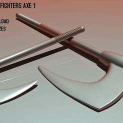 sewco_axe1_render_RBL3D.jpg Download free OBJ file Galaxy Warriors / Fighters Axe 1 • 3D printer model, RBL3D