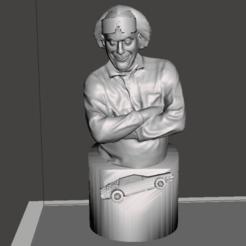 Screenshot (81).png Download STL file Doc Emmet Brown full bust • 3D printer template, altaircocola