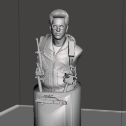 Screenshot (124).png Download STL file Egon ghostbusters bust • 3D printable design, altaircocola