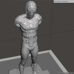 Screenshot (94).png Download STL file Spiderman Hungry pose • 3D printer template, altaircocola
