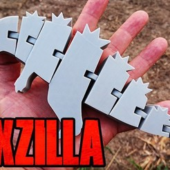 Flexzilla cover.jpg Download free STL file Flex - Zilla • 3D printer object, RGDI
