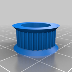Download free 3D printing models Pulley GT2 624 28T, ArtesDNet