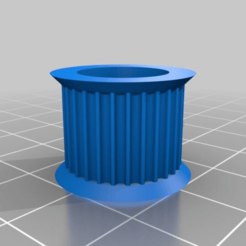 Download free 3D print files My Customized Parametric Pulley Library - Pulley GT2 624 28T, ArtesDNet