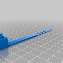 Download free 3D printing files 100mm Cable Tie, ArtesDNet