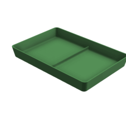 Download free STL Stackable Tray 120x80mm, ArtesDNet