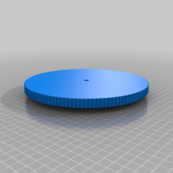 Download free 3D model My Customized Parametric pulley -120 teeth, ArtesDNet
