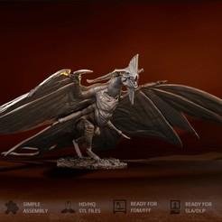 Download 3D printing templates Avatar Toruk, Dovahkiin3DyNPrint