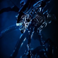Download 3D printer designs Queen Alien, Dovahkiin3DyNPrint