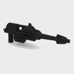 Download 3D printer files Transformers WFC Siege Energon Battle Pistol, Protoa