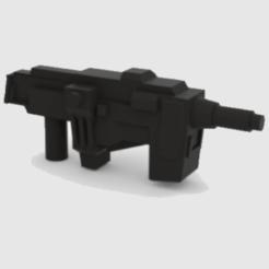 Download 3D printer templates Transformers WFC Siege Neutron Assault Rifle, Protoa