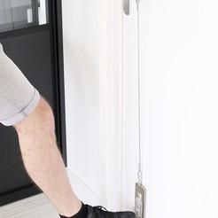 Descargar STL gratis HYGIE-DOOR / Pedal de la puerta Parada COVID, Hygie