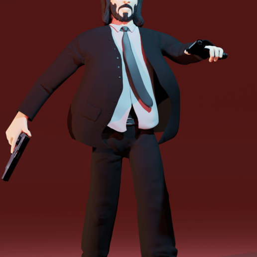 Download STL files John Wick, aler8712