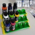 Download STL file Modular Airbrush Paint Stand • 3D printer design, Unkenny3d