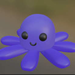 pulpoalegre.png Download free STL file Pulpo_Octopus Alegre/Happy • 3D printing object, crlwaly