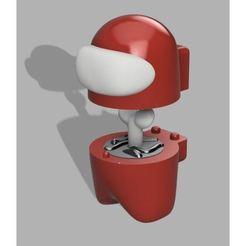 Keyed.jpg Download free STL file Amoung Us Character • 3D printable design, gojosemaps4