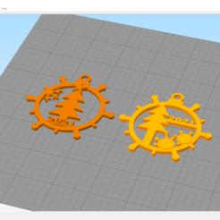 screenshot_20201228_232439.png Download STL file CHRISTMAS BALL 2021 • 3D print template, avanessian32