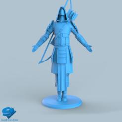 Download 3D print files Human Samurai Ranger unit 5#, BLUEWYVERN