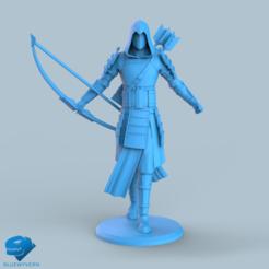 Download STL file Human Samurai Ranger unit 4#, BLUEWYVERN