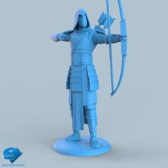 Download 3D printer files Human Samurai Ranger unit 3#, BLUEWYVERN