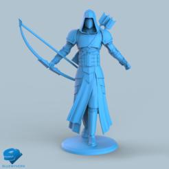 Download 3D printer designs Human Ranger unit 4#, BLUEWYVERN