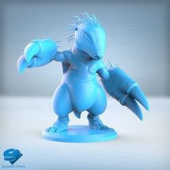 Visual_Mole_01.jpg Download STL file Braymole • 3D printing design, BLUEWYVERN