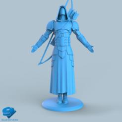 Download 3D printing models Human Ranger unit 5#, BLUEWYVERN