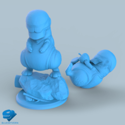 Visual_SmallCritter_01.png Download STL file Small Critters • 3D print design, BLUEWYVERN