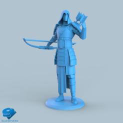 Download 3D printer model Human Samurai Ranger unit 1#, BLUEWYVERN